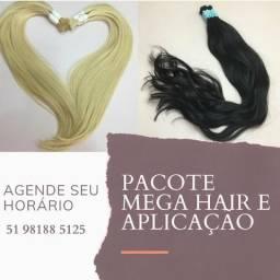 Mega Hair Cabelo 100% Natural