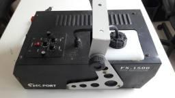 Maquina de Fumaça tec port FX 1500 com temporizador