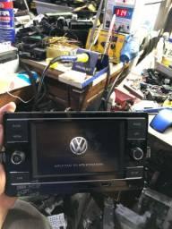 Multimídia original Volkswagen do Polo Novo