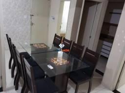 Apartamento na Fraga Maia, Nascente, Mobiliado, 2 Quartos, para Locação, Condomínio Santan