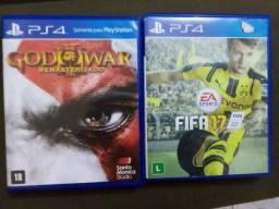 Jogos PS4 venda e troco