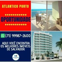 Magnífico Atlântico Porto, 1 Suíte em 45m² na Pituba