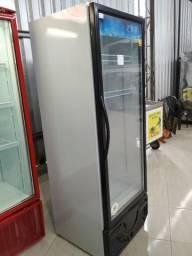 Expositor vertical Visa cooler Polar seminovo 405L, 220v, Frete Grátis