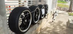 Vende se rodas e pneus