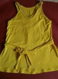 Blusa amarela tamanho P