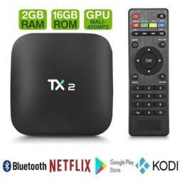 Tv box tx2 165,00 - entrega e a instalação a domicilio sem taxa