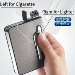 Cigarreira de aluminio