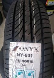 Pneu Novo 185/65 R15 Marca Onyx ( Onix, Prisma, Civic, Cerato, Logan, Sandero, Versa.)