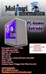 PC gamer Entrada I3 4170 + 8gb + SSD +Placa de video GTX 960 Com Garantia