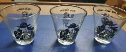 3 copos da Bardahl Para Shot Promocional Anos 60 Colecionável