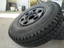 Roda com pneu novo s10