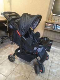 Carrinho de Bebê com bebê conforto Cosco (Promissão-SP)