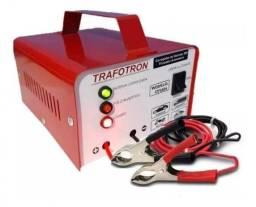 Carregador de Bateria Trafotron 5ah Carro e Moto 12V