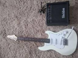 Troco/divido no Cartão: Guitarra + Amplificador
