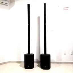 Sistema de som P.A. Vertical Compacto Turbosound IP 500