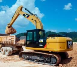 Escavadeira, Pá Carregadeira, Rolo Compactador, Motoniveladora, Caminhão A30