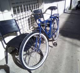 Bicicleta Monark Barra Circular Caximbada