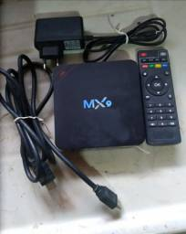 TV BOX MX9 em OTIMO estado