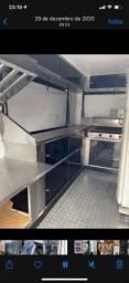 Trailer food truck treiler de lanche