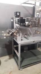 Máquina flexográfica 160mm 1 cor + gaiola de corte