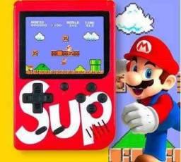 400 jogos clássicos Video Game Portátil Retrô SUP recarregável/USB