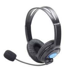 Headset P/ Ps4 Xbox Celular C/ Microfone Knup P3 Kp-352