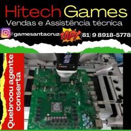Assistência técnica especializada em Games