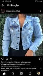 jaqueta jeans novissima