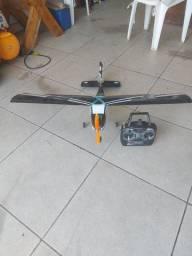 Vendo avião elétrico completo com rádio 6 canais Anápolis