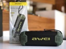 Caixa de Som Portátil Awei Y280 - À prova D`Água - Bluetooth - 16W