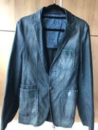 Título do anúncio: Blazer jeans masculino Spirito Santo
