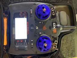 Spektrum Dx8 2da Geração Rádio Controle Drone Racing FPV