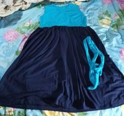 Vestido de malha para gestantes
