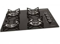 Fogão cooktop 4 bocas c/acendimento automatico