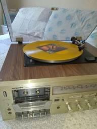 Receiver toca discos