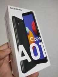 Samsung A01 core 32gb azul , lacrado, R$ 550