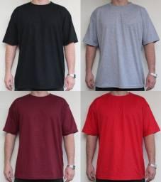 Camisetas Lisas sem Estampa Tam: M, G, GG, XG, XG2 e XG3