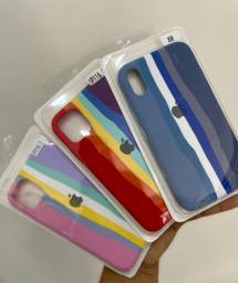 Case para IPhone colorida