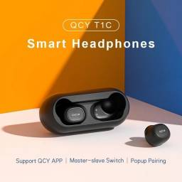 Fone de ouvido sem fio Original Qcy Bluetooth Android Iphone