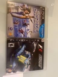 Jogo PlayStation 3 e controle