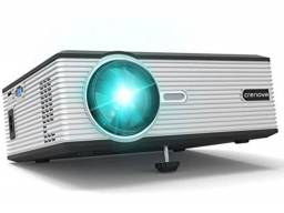 Mini Led Home Projector Crenova XPE 470- Cinema em casa!
