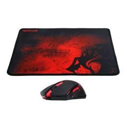 Mouse + Mousepad Gamer Redragon M601ba