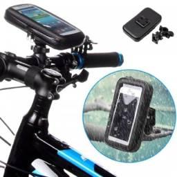 Capa Case Suporte Celular Moto Bike Prova D'água Premium
