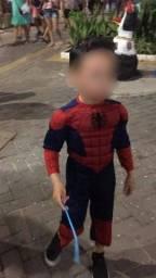 Título do anúncio: Fantasia do homem aranha