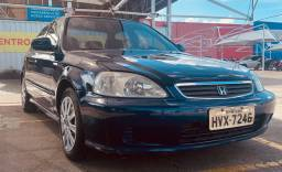 Honda Civic 99 manual, troco e facilito