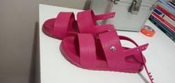 Sandália da Barbie