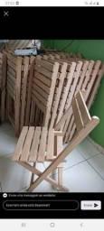 28 cadeiras dobrável novo