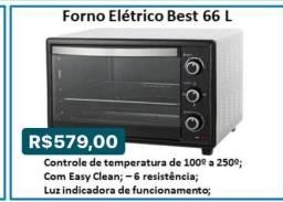 Forno Elétrico Best 66 L Cozinha multiuso 189y