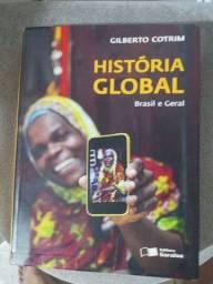 Livro de história de Gilberto Cotrim