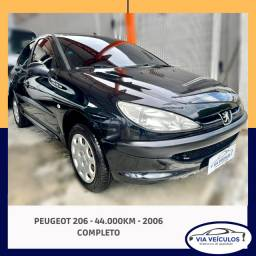 Peugeot 206  -  44.000km Original - Completo